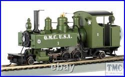 29504 Bachmann On30 Scale Quartermaster Corps #1 Baldwin Class 10 DCC Sound