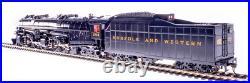 BLI 5989 NORFOLK & WESTERN Class A 2-6-6-4 Museum Loco #1218 DCC/Sound/SMOKE NIB