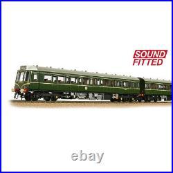 BNIB OO Gauge Bachmann 35-500SF DCC SOUND Class 117 3 Car DMU BR Speed Whiskers