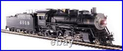 BROADWAY LIMITED 4760 HO ATSF 4000 Class 2-8-2 4018 Oil Paragon4 Sound/DC/DCC