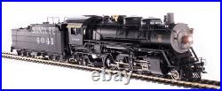 BROADWAY LIMITED 4761 HO ATSF 4000 Class 2-8-2 #4041 Oil Paragon4 Sound/DC/DCC
