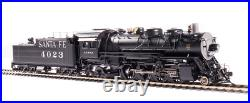 BROADWAY LIMITED 4765 HO ATSF 4000 Class 2-8-2, #4023 Oil Paragon4 Sound/DC/DCC