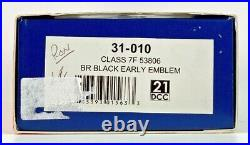 Bachmann 00 Gauge 31-010 Class 7f 53806 Br Black Early Howes DCC Sound