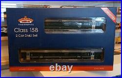 Bachmann 31-519SF Class 158 766 2 Car DMU GWR DCC Sound Fitted