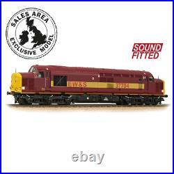 Bachmann 32-390DBDS OO Gauge Class 37/7 No 37704 EW&S DCC SOUND