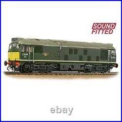 Bachmann 32-441SF Class 24/1 BR Green Small Yellow Panel DCC Sound Fitted NEW
