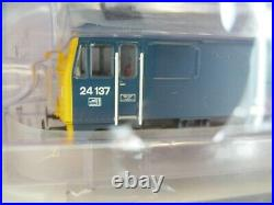 Bachmann 32-442SF Class 24/1 BR Blue Full Yellow Ends DCC Sound Fitted NEW