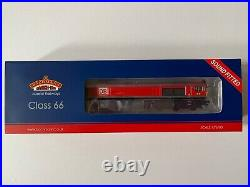 Bachmann 32-734BSF OO Gauge Class 66/0 # 66117 DB Cargo Red DCC Sound