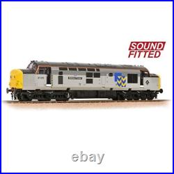 Bachmann 32-778RJSF OO Gauge Class 37/0 37275 Stainless Pioneer Metals DCC SOUND