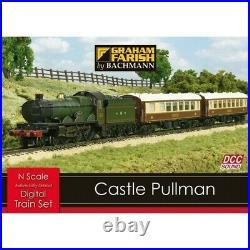 Bachmann N Gauge DCC. GWR'Castle Class' Pullman Digital Sound Train Set