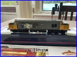 Bachmann Oo Gauge Class 37 No. 37693 In Br Large Logo Livery, DCC Sound Fitted