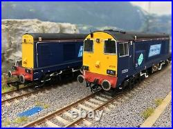 Bachmann Pair of Class 20 DRS Compass DCC Sound Fitted / Custom Finished
