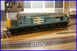 Bachmann class 37 oo gauge in British steel blue 37501 dcc sound used