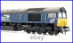 Bachmann'oo' Gauge 32-982 Drs Plain Blue Class 66 434 Diesel Loco DCC Sound