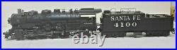 Broadway 4763 Santa Fe Railroad 4000 Class 2-8-2 4100 Paragon 4 Sound/DCC