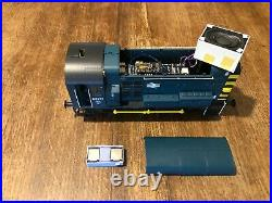 Class 08 Blue Inverness 08717 fitted with Zimo Digitrains Paul Chetter DCC Sound
