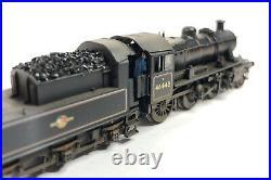 DCC Sound Graham Farish Class Ivatt 2MT 46443 BR Black Late Crest TMC Weathered