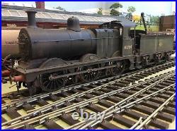 DCC Sound O Gauge J. M. Kit Built Ex Lms/br Fowler Class 0-6-0 Tender 3f 43784