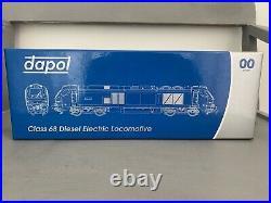 Dapol 4D-022-015S Class 68'68026' DRS Plain Blue DCC Sound Fitted