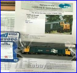Dapol N Gauge Class 50 50001'Dreadnought' in BR Blue LL DCC Sound Fitted