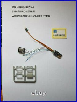 Diesel Class 33 sounds pre-loaded on a Loksound V5 DCC Sound Decoder