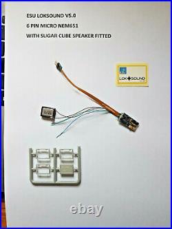 Diesel Class 37/0 sounds loaded onto a Loksound V5 DCC Sound Decoder