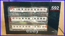 Electrotren E3420S RENFE 3 Piece DMU Set Class 592 CERCANIAS V-VI DCC & Sound