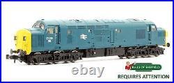 Graham Farish'n' Gauge 371-450 Br Blue Class 37 038 Diesel Loco DCC Sound
