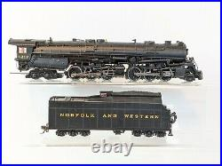 HO gauge Broadway N&W Class A 2-6-6-4 steam locomotive-DCC SOUND-013