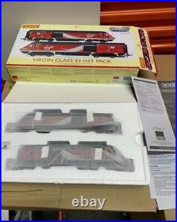 HORNBY R3390 TTS VIRGIN CLASS 43 HST PACK DIGITAL WITH SOUND DCC Fitted new
