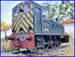 Heljan Class 03 D2030 BR Green DCC Sound Fitted Custom Weathered Stay Alive