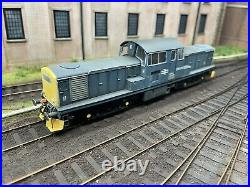 Heljan Class 17 BR Blue Weathered and Sound Chipped DCC