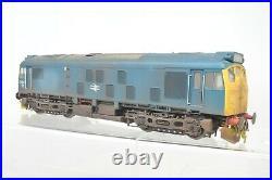 Heljan O Gauge 2552 Zimo DCC SOUND BR Blue Class 25042 Weathered