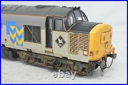 Heljan O Gauge Railfreight Triple Grey Class 37667'Wensleydale' DCC SOUND FIT