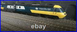 Hornby R3138 Class 43 HST Blue/Grey. DCC TTS SOUND Intercity + 7 coaches OO