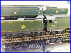 Hornby R3382TTS BR EARLY MERCHANT NAVY CLASS HOLLAND AFRIKA NO. 35023 SOUND DCC