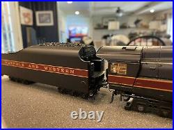 MTH HO Scale 4-8-4 J Steam Engine Norfolk And Western Class #601 Proto Sound 3