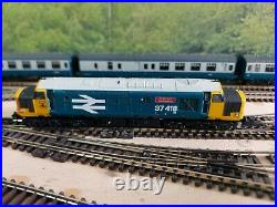 N Gauge Farish Class 37 No. 37418 in BR Large Logo. DCC SOUND
