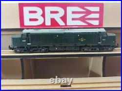 N Gauge Farish Class 37 No. D6827 in BR GREEN livery Weathered. DCC SOUND