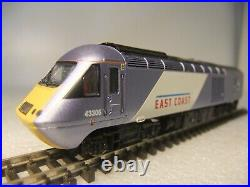 N gauge Dapol 2D-019-006 Class 43HST Mk3 Bookset East Coast DCC SOUND MIB