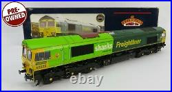 OO Gauge Bachmann 32-726DS DCC SOUND Class 66 522 Freightliner Shanks Loco