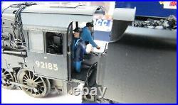 OO Gauge Bachmann 32-858DC DCC SOUND Class 9F 92185 BR Black Weathered Loco
