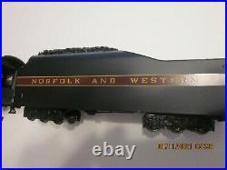 RARE MTH HO Norfolk & Western J Class Steam Loco #611- SOUND, DCC/DC/DCS Nice