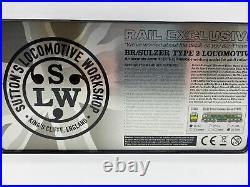 Sutton Locomotive Workshop Br Sulzer Class 24 D5107 Br Green. DCC Sound. Slw